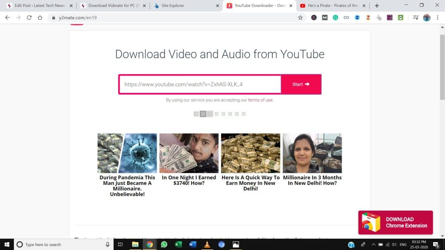 Online Youtube Video Download vidmate