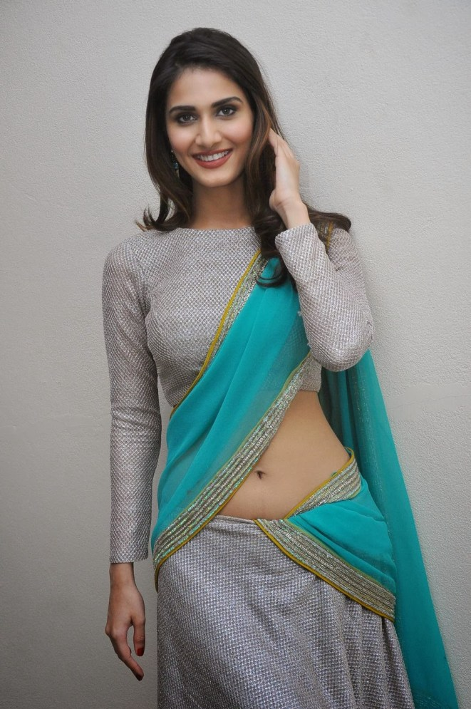 Vaani Kapoor Saree Navel Cleavage