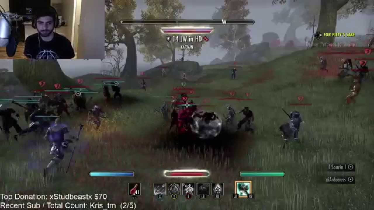 ESO Dueling On Xbox One 1v1 Fights WSypher