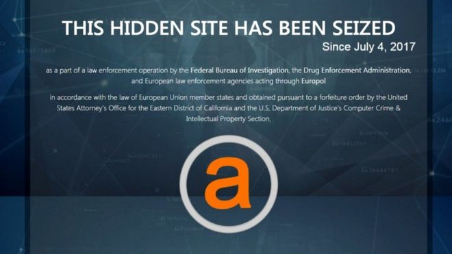 AlphaBay and Hansa Market Seized by Law Enforcement