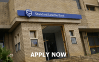 BANK TELLER JOBS AT STANDARD BANK LESOTHO