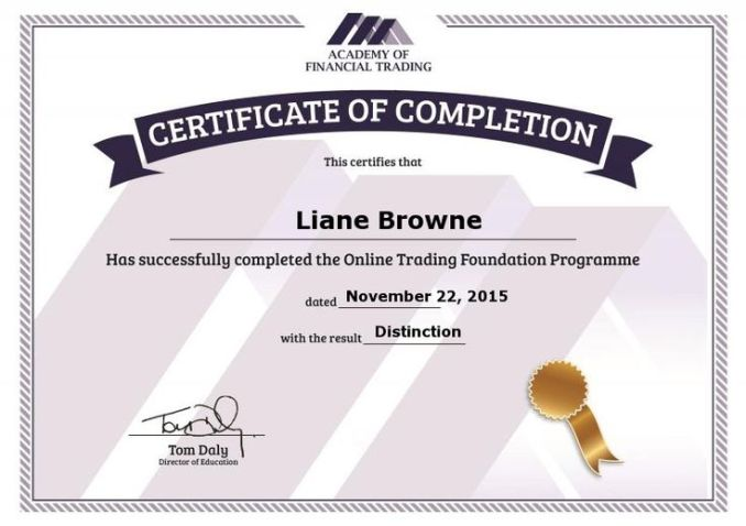 Free Diploma in Financial Trading: This is Financial Self-Empowerment 1