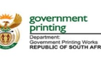 Government Printing Works Apprenticeship Programme 2019