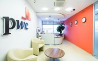 pwc office reception area
