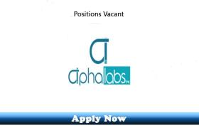Jobs in Alpha Labs Pk Lahore 2019 Apply Now