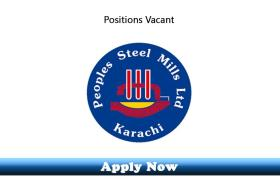 Jobs in Peoples Steel Mills Limited 2019 Apply Now