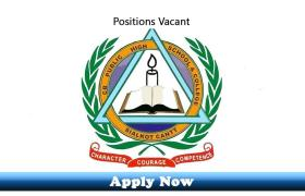 Jobs in Cantonment Board Public School and College Sialkot Cantt 2019 Apply Now