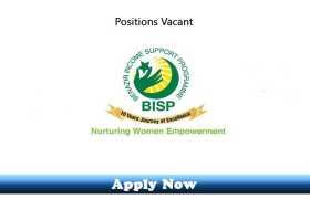 Jobs in Benazir Income Support Programme (BISP) 2020