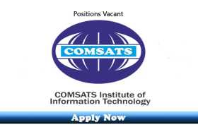 53 New Jobs in COMSATS University Islamabad 2020 Apply Now