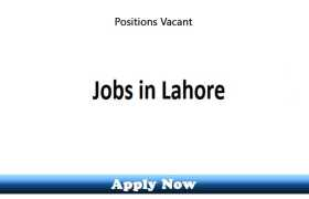 Jobs in a Construction Company Lahore 2020