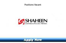Jobs in Shaheen Cosmetics Pvt Ltd Lahore 2020