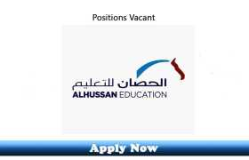 Jobs in AlHussan Education and Training Dammam Saudi Arabia 2020 Apply Now