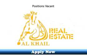 Jobs in Al Khail Real Estate Broker LLC Dubai 2020 Apply Now