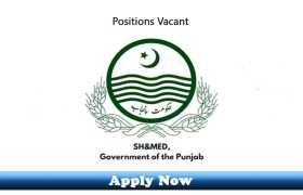 Jobs in Specialized Healthcare & Medical Education Department Punjab 2020