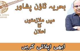 Jobs in Bahria Town Peshawar 2020