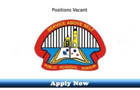 Jobs in IBA-Public School Sukkur 2020