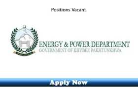 Jobs in Energy and Power Department Khyber Pakhtunkhwa 2020