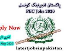 Pakistan Engineering Council PEC Islamabad Jobs 2020