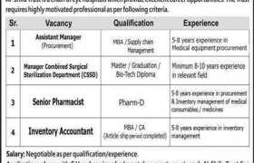 Al Shifa Trust Eye Hospital Rawalpindi Jobs 2020