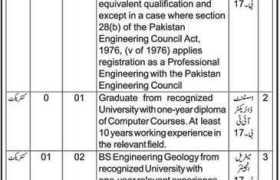 Jobs in PWD Highways Azad Jammu and Kashmir 2020