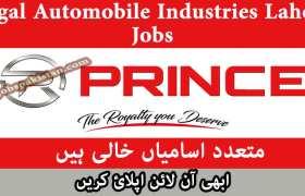 Regal Automobile Industries Lahore Jobs 2020