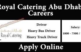 Royal Catering Abu Dhabi Jobs 2020