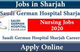 Saudi German Hospital Sharjah Jobs 2020