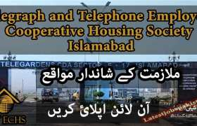 Jobs in Telegraph and Telephone Employees Cooperative Housing Society Islamabad 2020