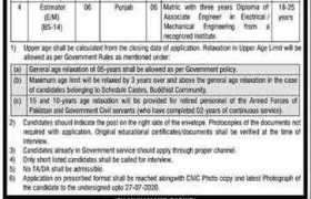 Pakistan Public Works Department Ministry of Housing and Works Jobs 2020