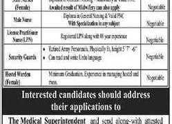 Ghurki Trust Teaching Hospital Lahore Jobs 2020