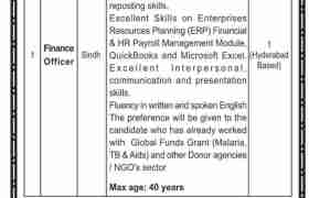 Program Management Unit Government of Sindh Jobs 2020