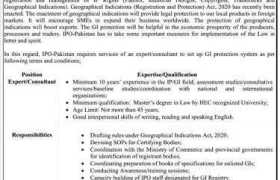 Intellectual Property Organization of Pakistan Commerce Division Jobs 2020