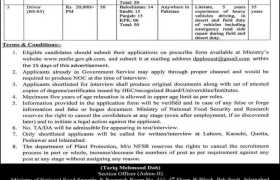 Department of Plant Protection Ministry of National Food Security & Research Government of Pakistan Jobs 2020