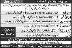 Servaid Pharmacy Jobs 2020