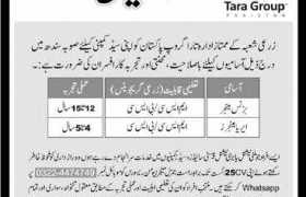 Tara Group Pakistan Jobs 2020