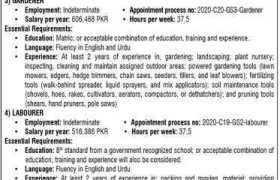 Canadian High Commission Jobs 2020
