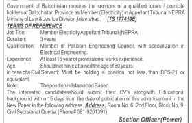 Energy Department Islamabad Jobs 2020