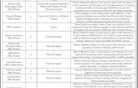 Tameer-e-Khalaq Foundation Balochistan Jobs 2020