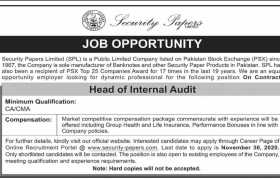 Security Papers Limited Jobs 2020