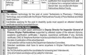 Prisons Department KPK Jobs 2021