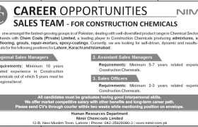 NIMIR Chemcoats Ltd Jobs 2021