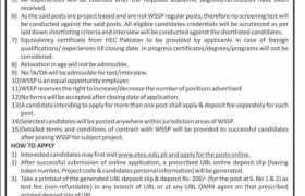 WSSP Jobs 2021