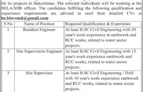 Private Sector Organization Balochistan Jobs 2021