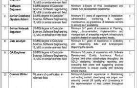 Pakistan Medical Commission Jobs 2021
