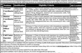NGO Punjab Jobs 2021