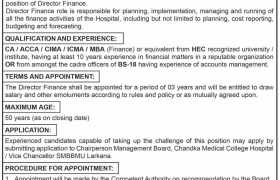 Chandka Medical College Hospital Jobs 2021