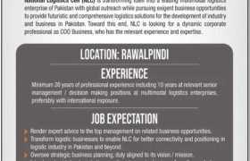 National Logistics Cell Rawalpindi Jobs 2021