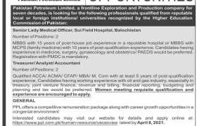 Pakistan Petroleum Limited Jobs 2021