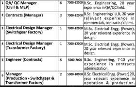 Jobs in Redco International Qatar 2021