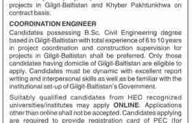 Jobs in NESPAK Gilgit-Baltistan 2021